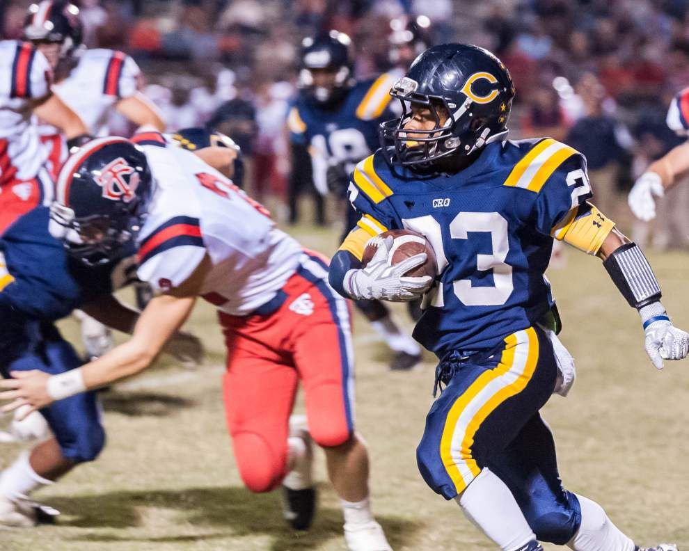 Carencro breaks a late tie to upset Teurlings Catholic 33-21 in District 4-4A _lowres