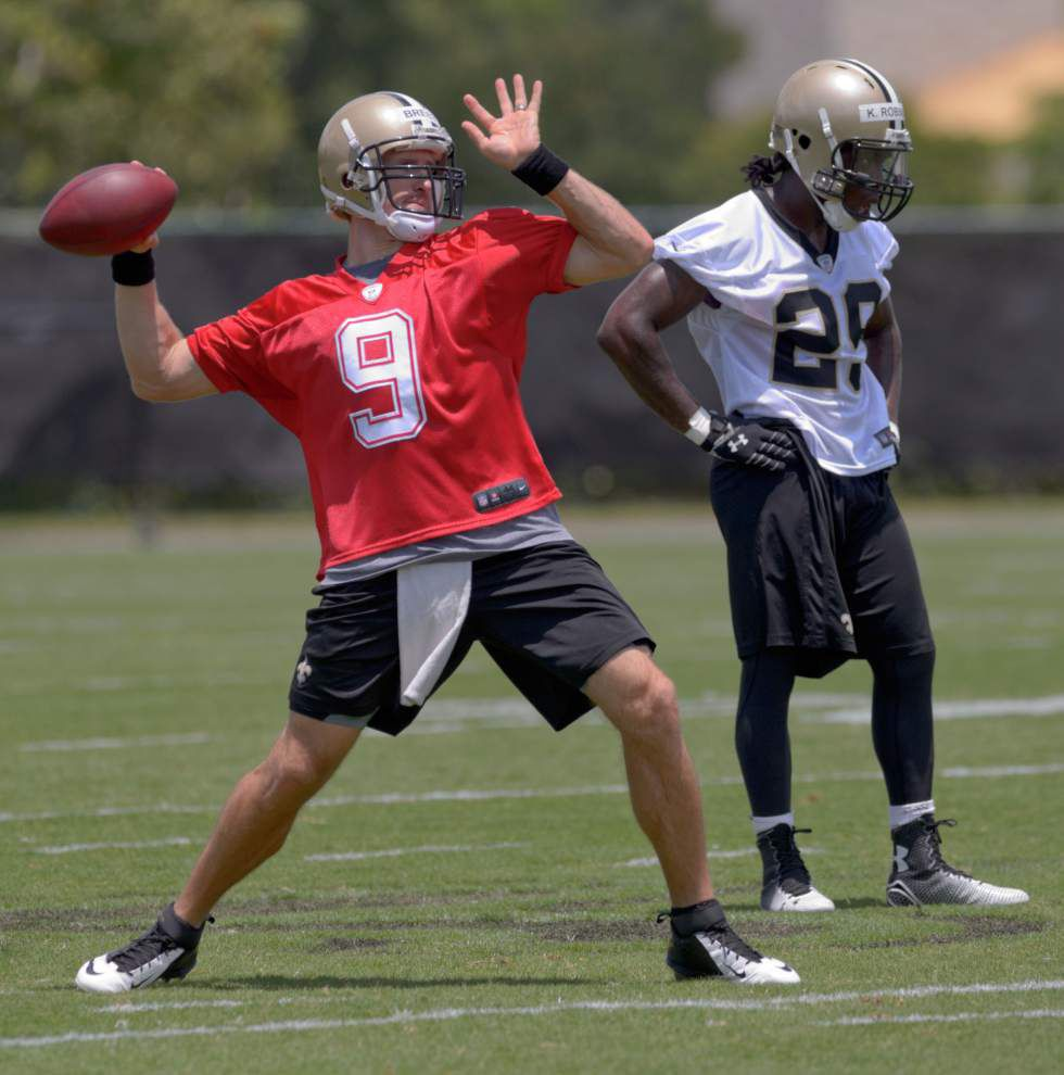 Video: The sights and sounds of the Saints' OTAs _lowres