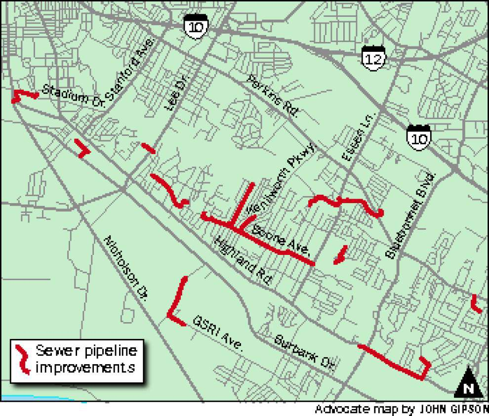 Highland work to alter traffic _lowres