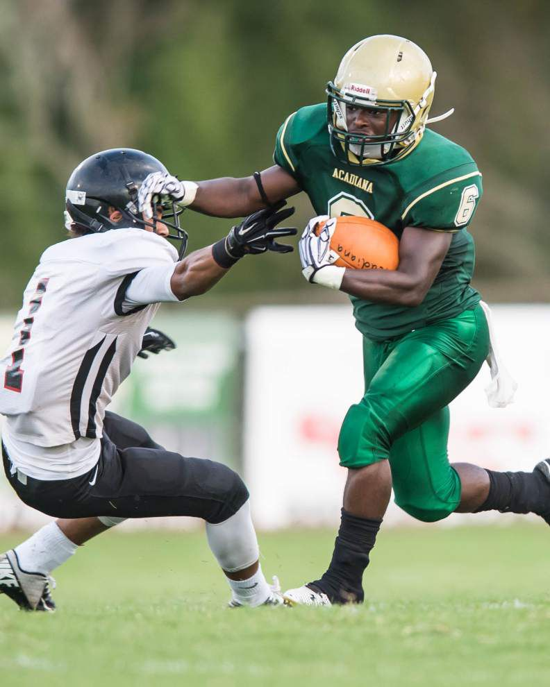 Acadiana defeated Ponchatoula in the regional round of the playoffs last season, they're squaring off again in Week 2 in 2015 _lowres