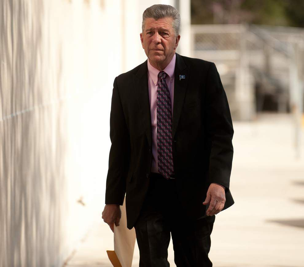 Judge declines to unseal records in case against St. Bernard Parish President David Peralta _lowres