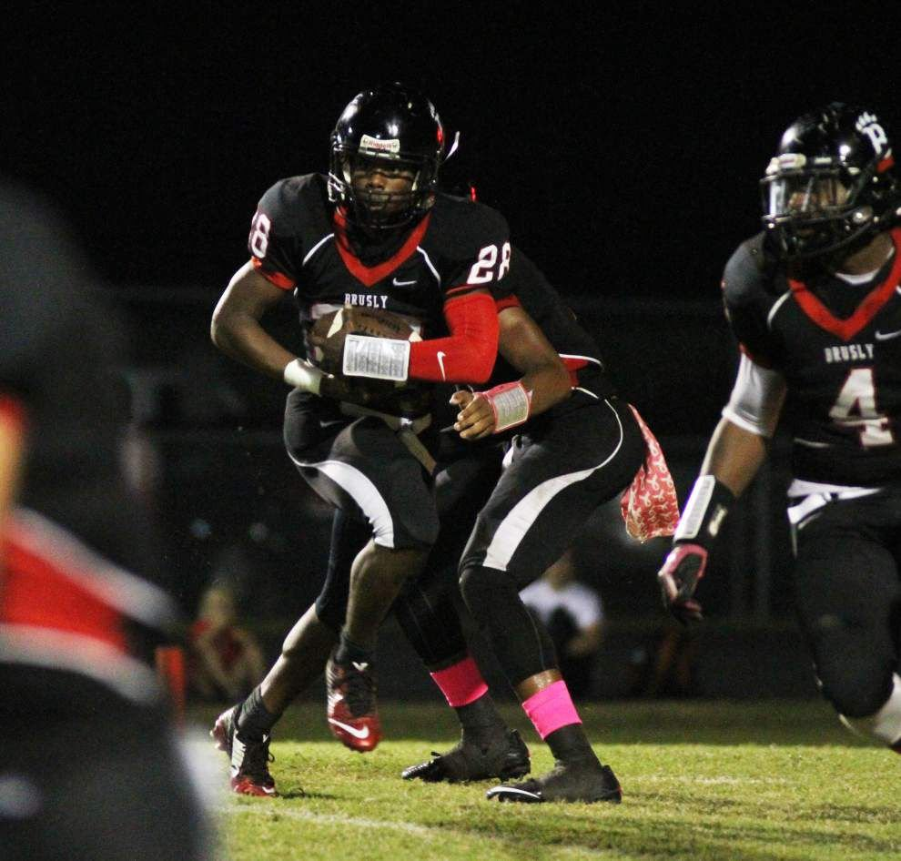 Photos: McKinley struggles against St. Amant, Woodlawn shrugs off Belaire in Baton Rouge area prep football _lowres