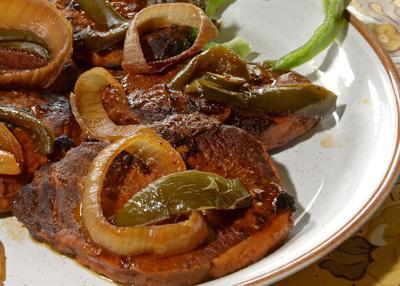Sweet Creole Pork Chops