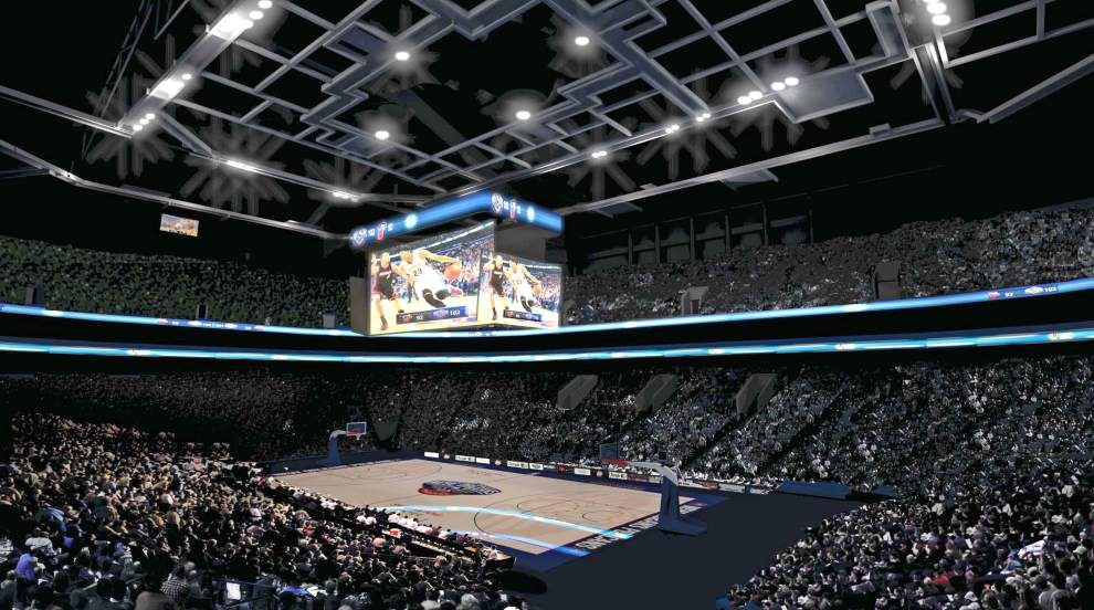 Bigger video boards, other improvements coming to the Superdome and the Smoothie King Center _lowres