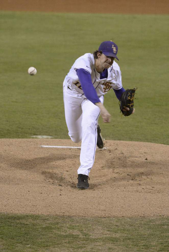 Video: Nola says all of his pitches were working against Purdue _lowres