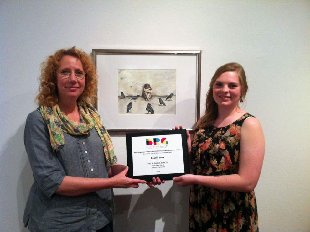 Senior wins top prize at Baton Rouge art show _lowres