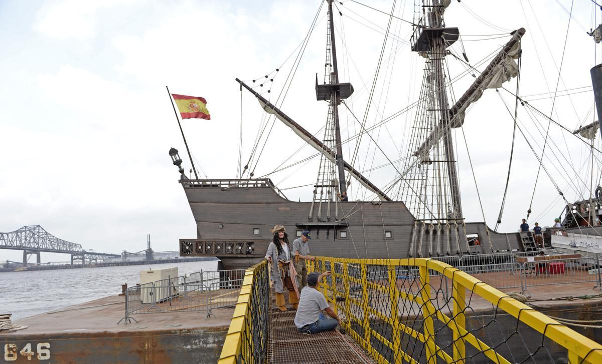 photos spanish galleon el galeon andalucia visits baton rouge