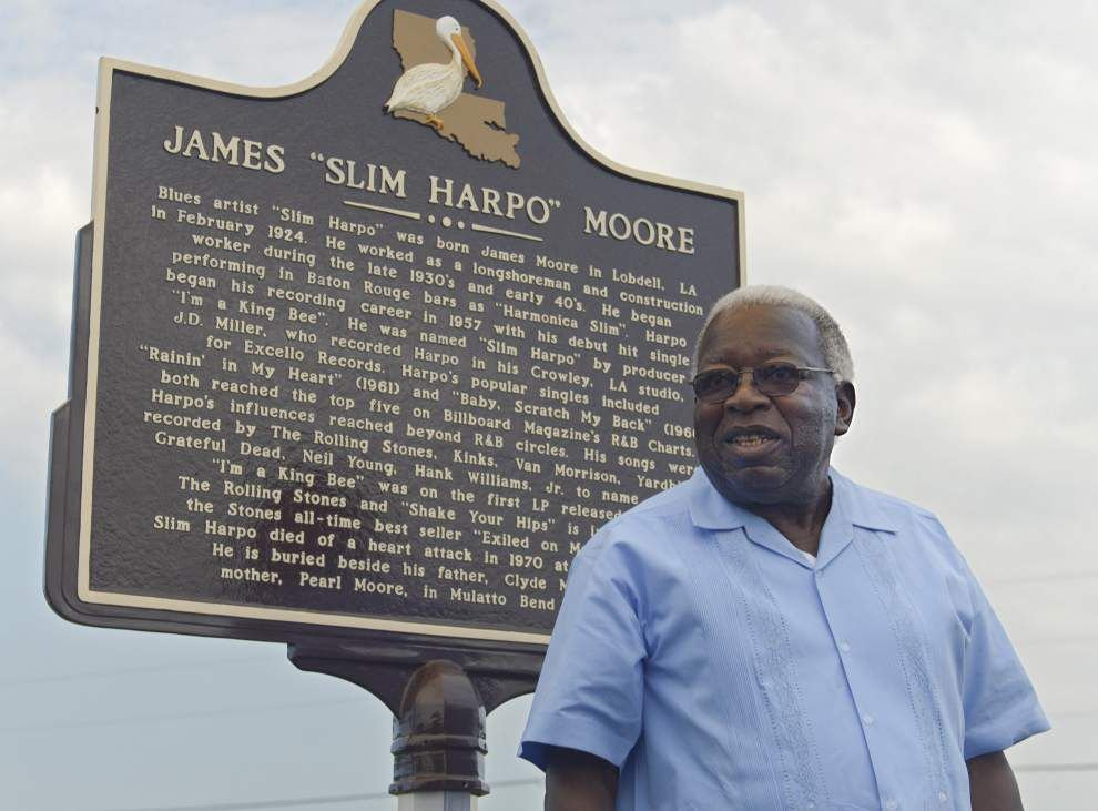 'Slim Harpo' gets state historical marker in WBR _lowres