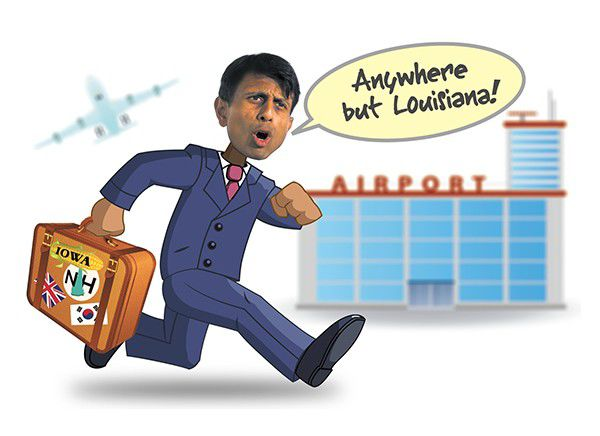 """Report: Jindal to bash Hillary Clinton's """"mindless naivete"""" in London speech_lowres"""