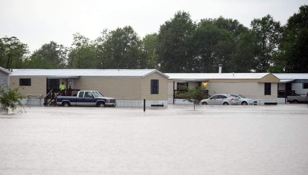 Flooding in Lafayette area: Families rescued; interstate swamped; still more rain to come _lowres