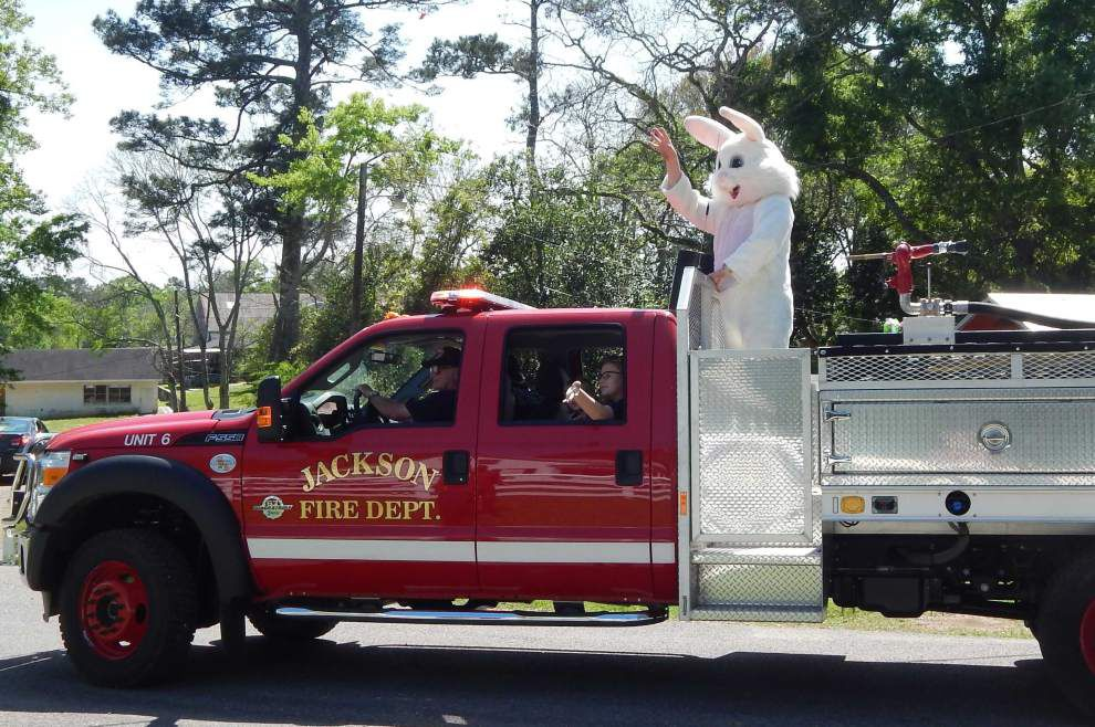 Easter parade rolls through Jackson _lowres