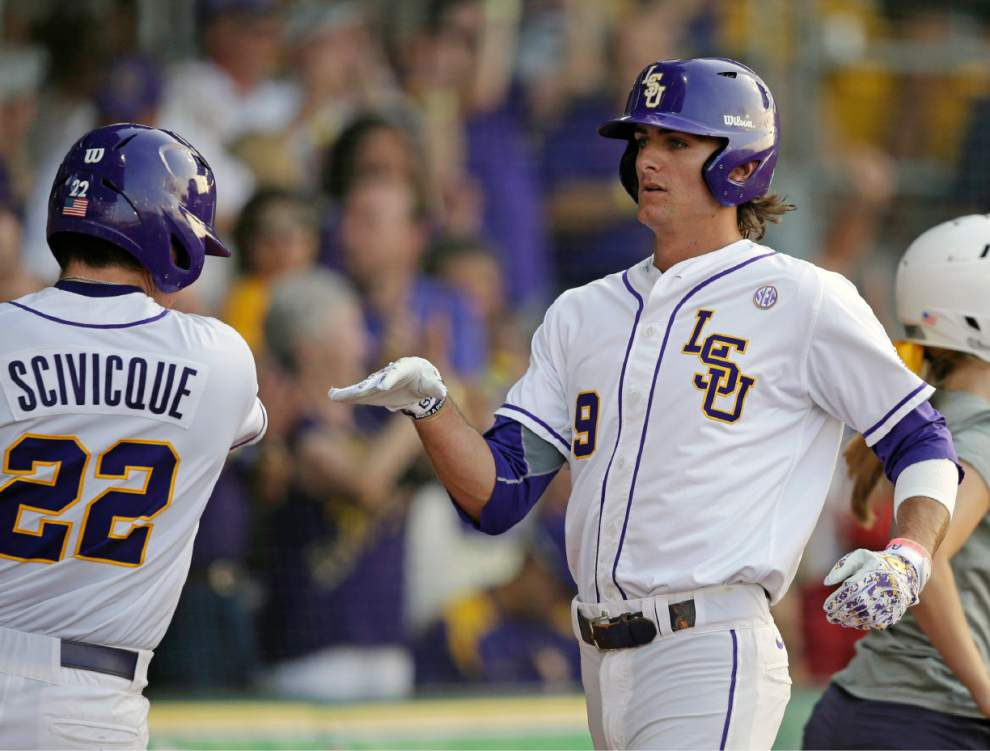 Four LSU players can draw on last experience at CWS _lowres