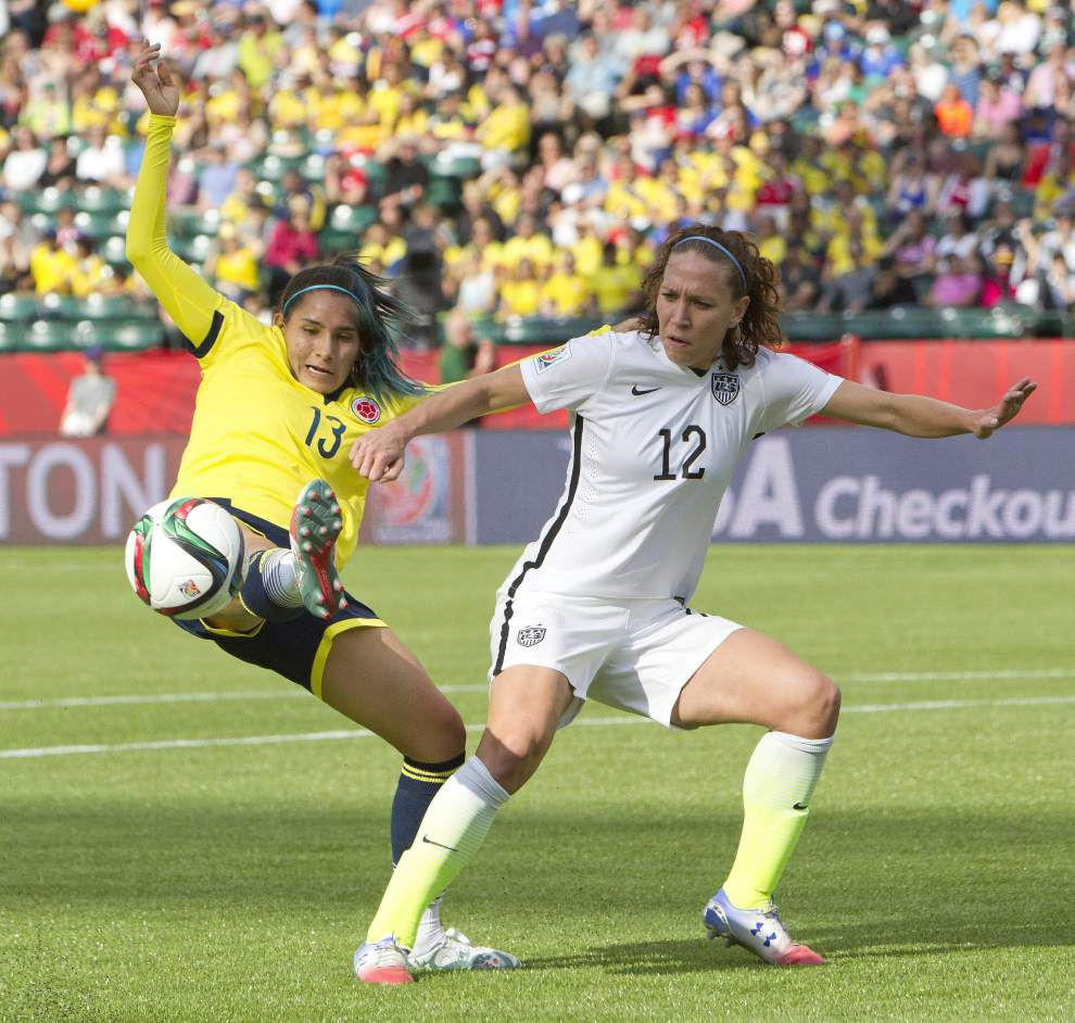 Megan Rapinoe, Lauren Holiday out for U.S. in World Cup quarterfinals _lowres