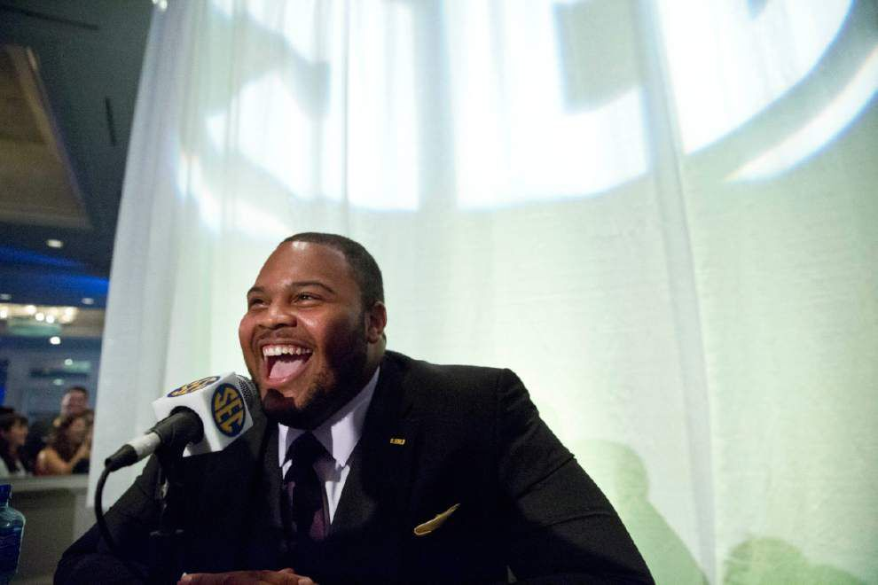 LSU's Leonard Fournette, Vadal Alexander and Jalen Mills land on media's All-SEC first team _lowres