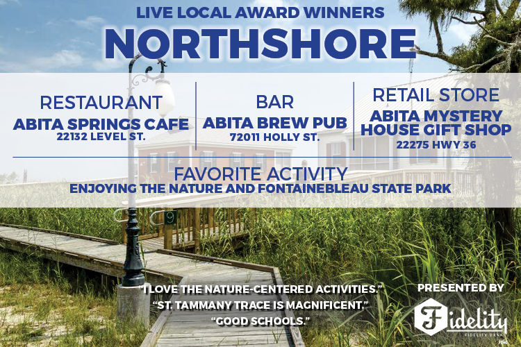 Northshore Live Local Winners