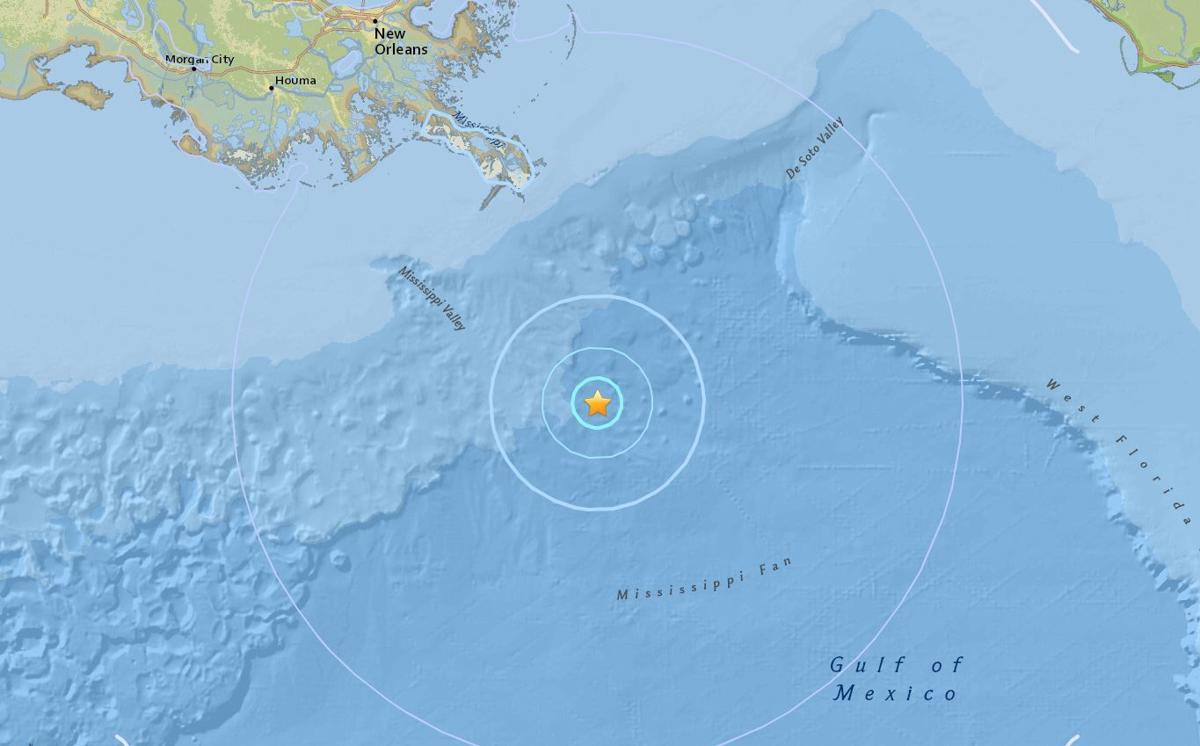 earthquake in gulf