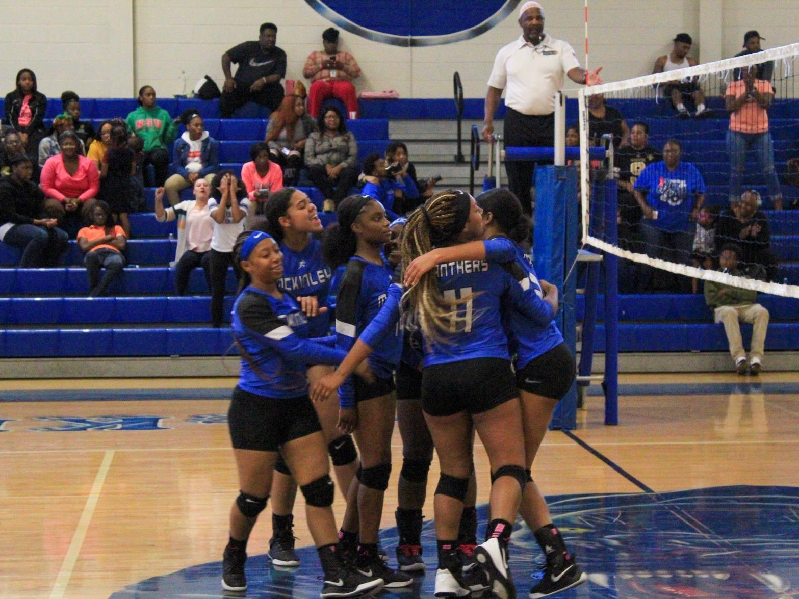 Hosting A Volleyball Playoff Contest Puts An Elated Mckinley Back In Lhsaa Postseason High School Sports Theadvocate Com