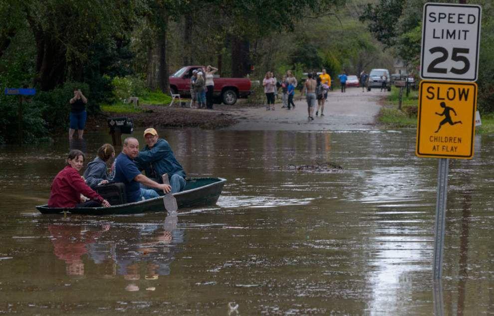 Photos, videos: Dramatic rescues in north Louisiana; major flooding in Tangipahoa Parish _lowres