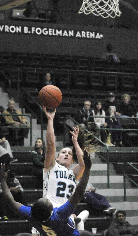 Middle Tennessee tops Tulane women 64-52 _lowres