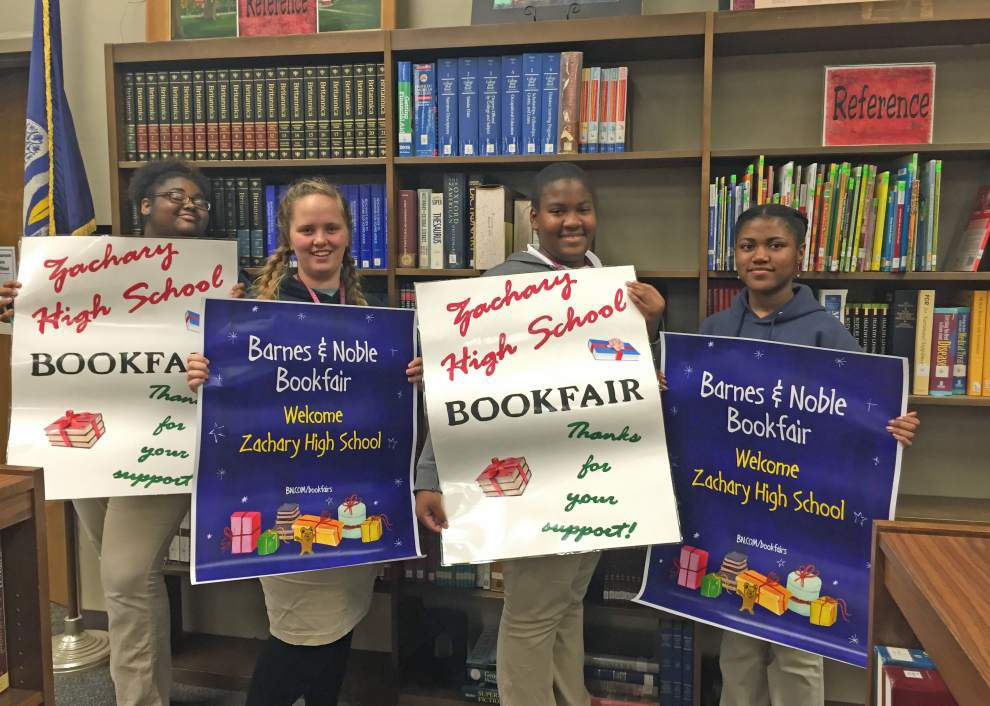 Zachary High Library Book Fair scheduled _lowres