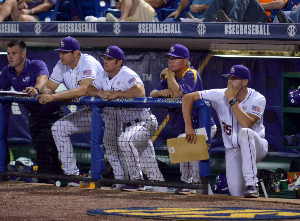 Tigers find more Hoover magic, rally past Tennessee 5-4 to stay alive in SEC tournament _lowres