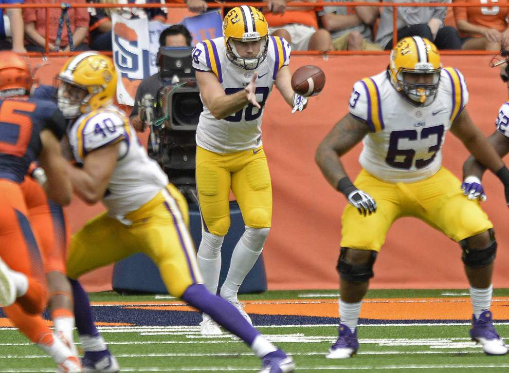 When it comes to LSU's special-teams lapses this season, Jamal Adams says 'that's not like us' _lowres