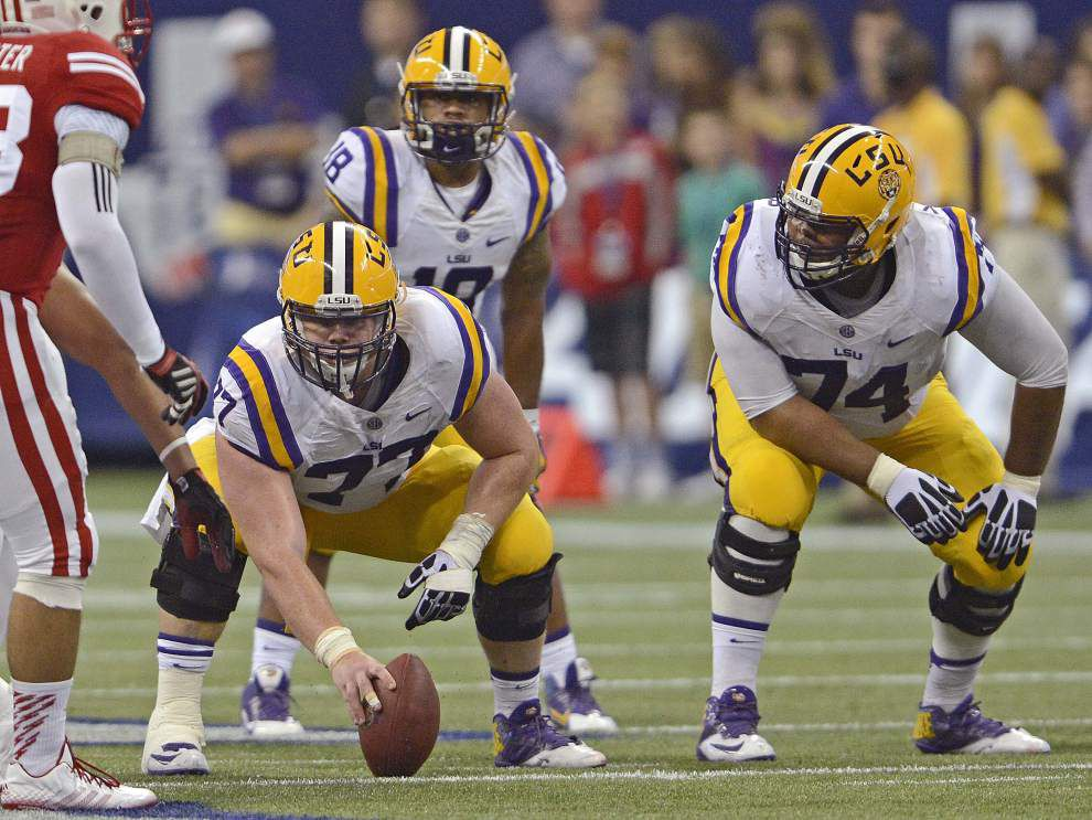 LSU says he's a guard, but Ethan Pocic still makes Rimington Trophy watch list for nation's best center _lowres