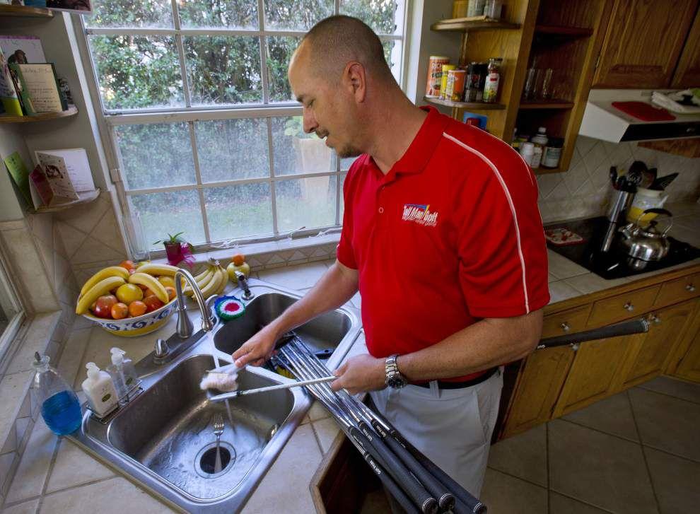 Baton Rouge entrepreneur hopeful unique golf clubs score with customers _lowres
