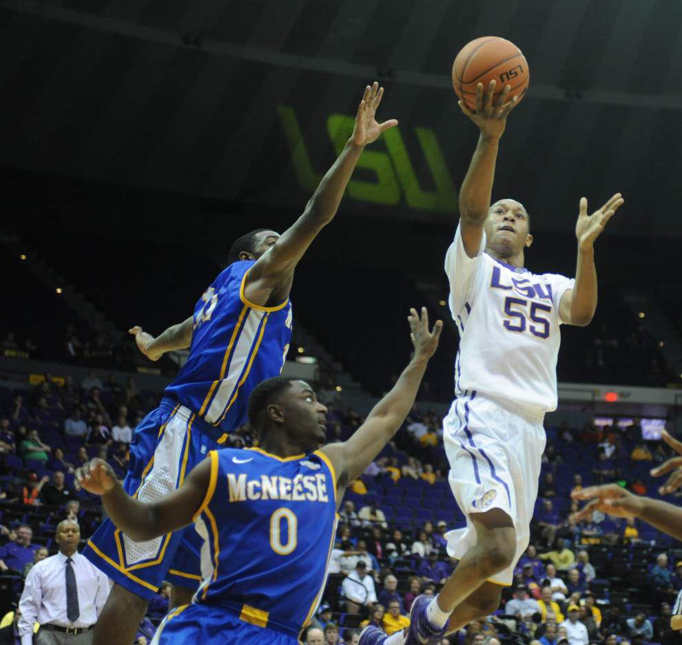 Video: LSU guard/forward Tim Quarterman his NCAA.com national player of the week award is because of his teammates _lowres