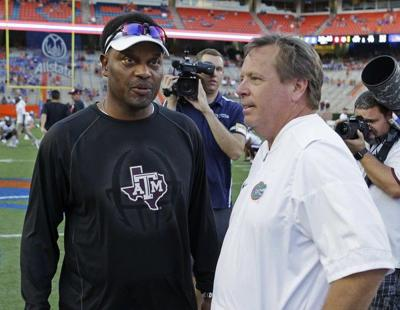 Texas A&M coach Kevin Sumlin says he hasn't been told anything about his future