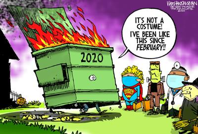 Walt Handelsman: What Costume?