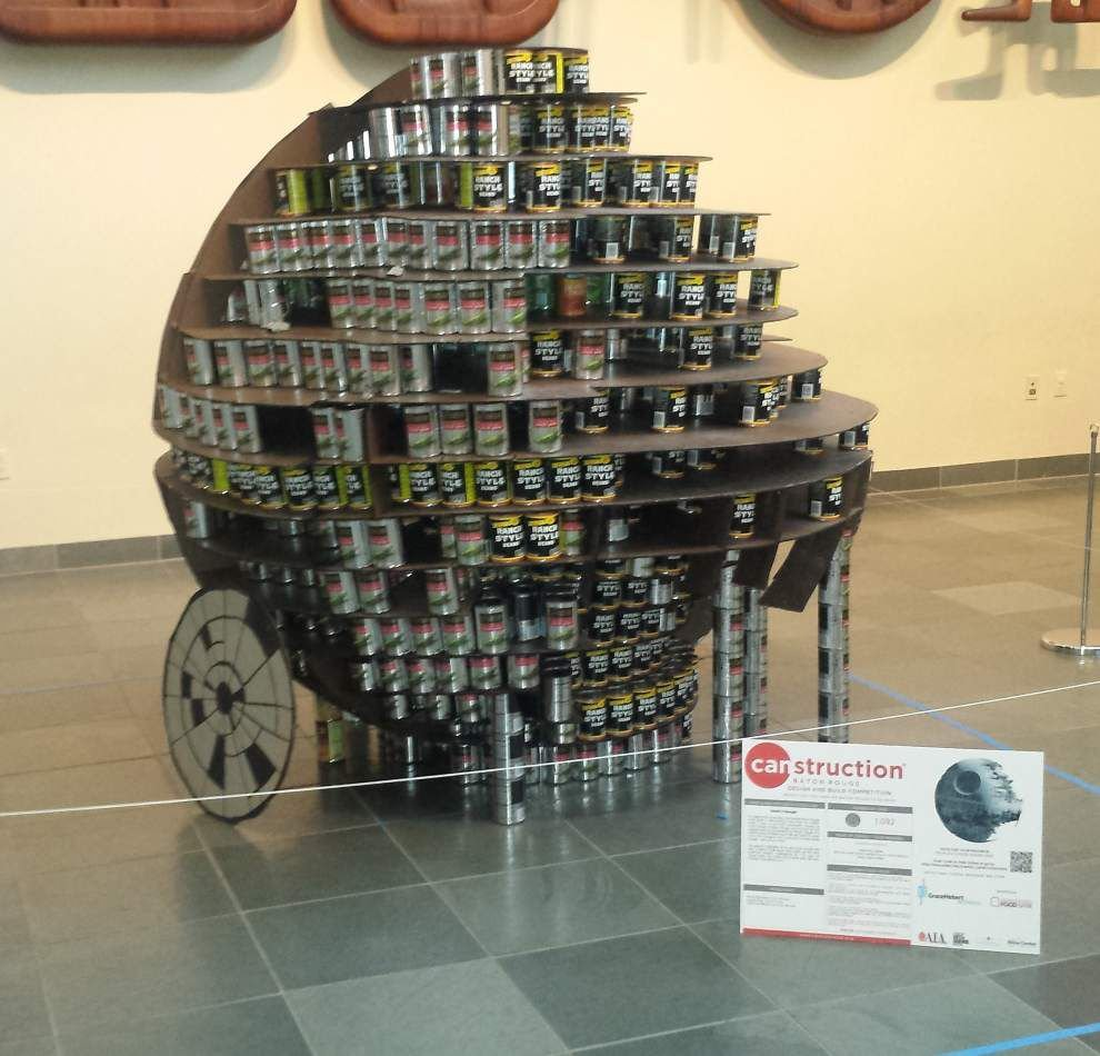 Architects build Star Wars themed sculptures for 'CAN Wars' competition _lowres