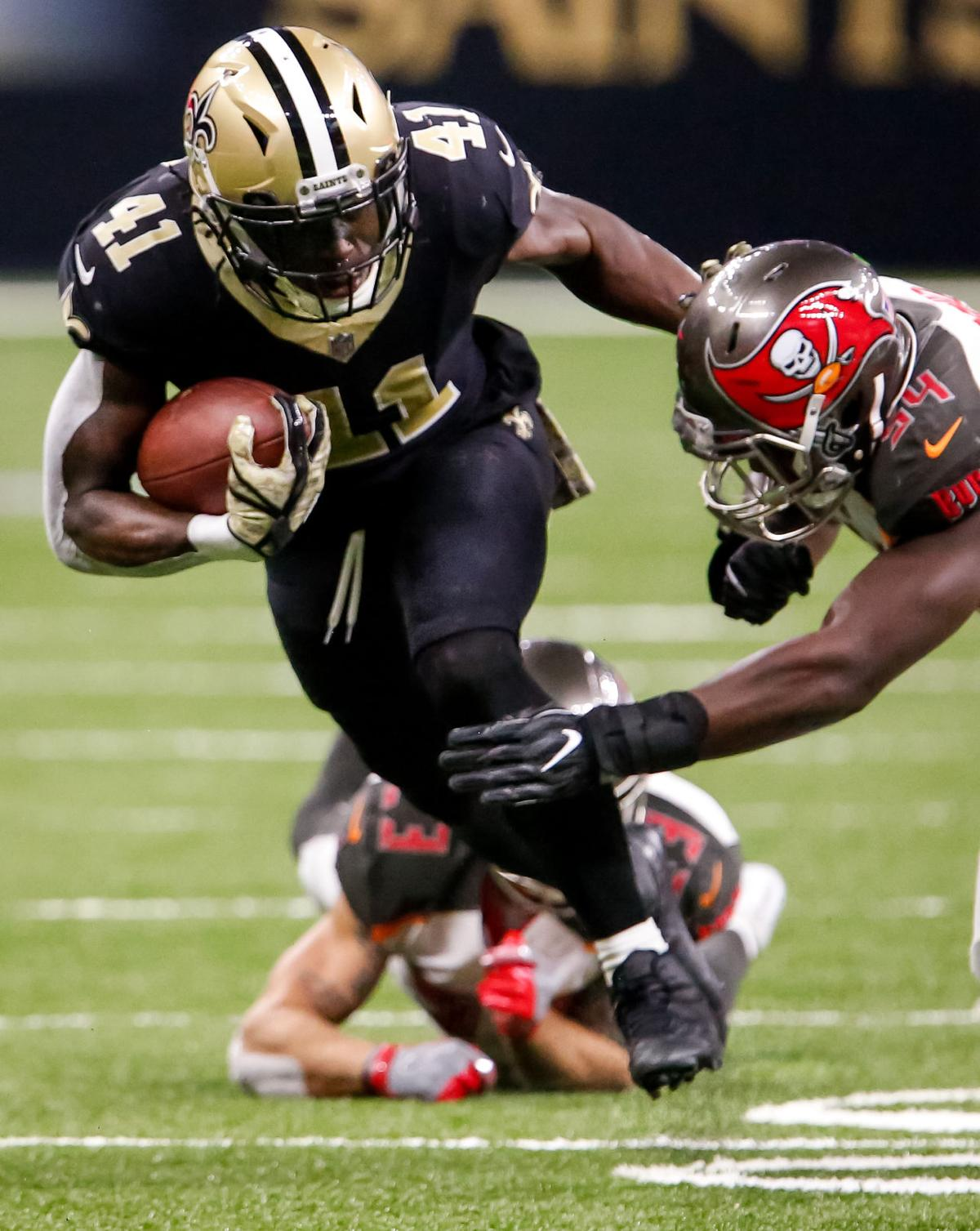 Saints Running Back Alvin Kamara Wins Pepsi Rookie Of The