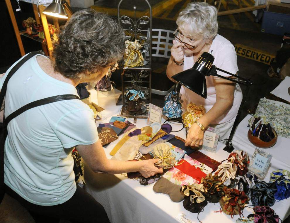 Photos: Baton Rouge Arts market moved indoors, sort of, for Saturday's event _lowres