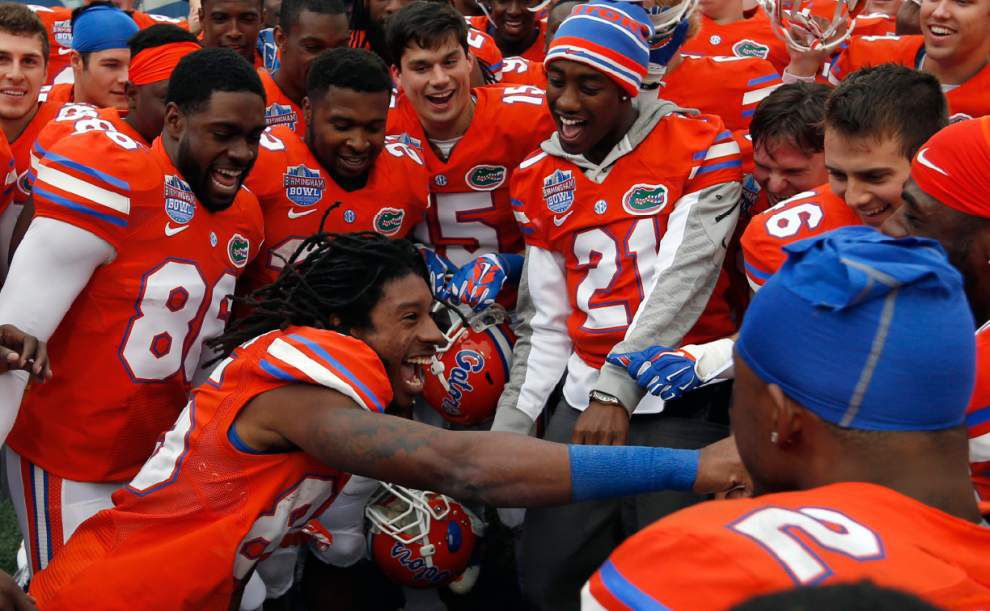 Birmingham Bowl: Florida holds off East Carolina 28-20 _lowres