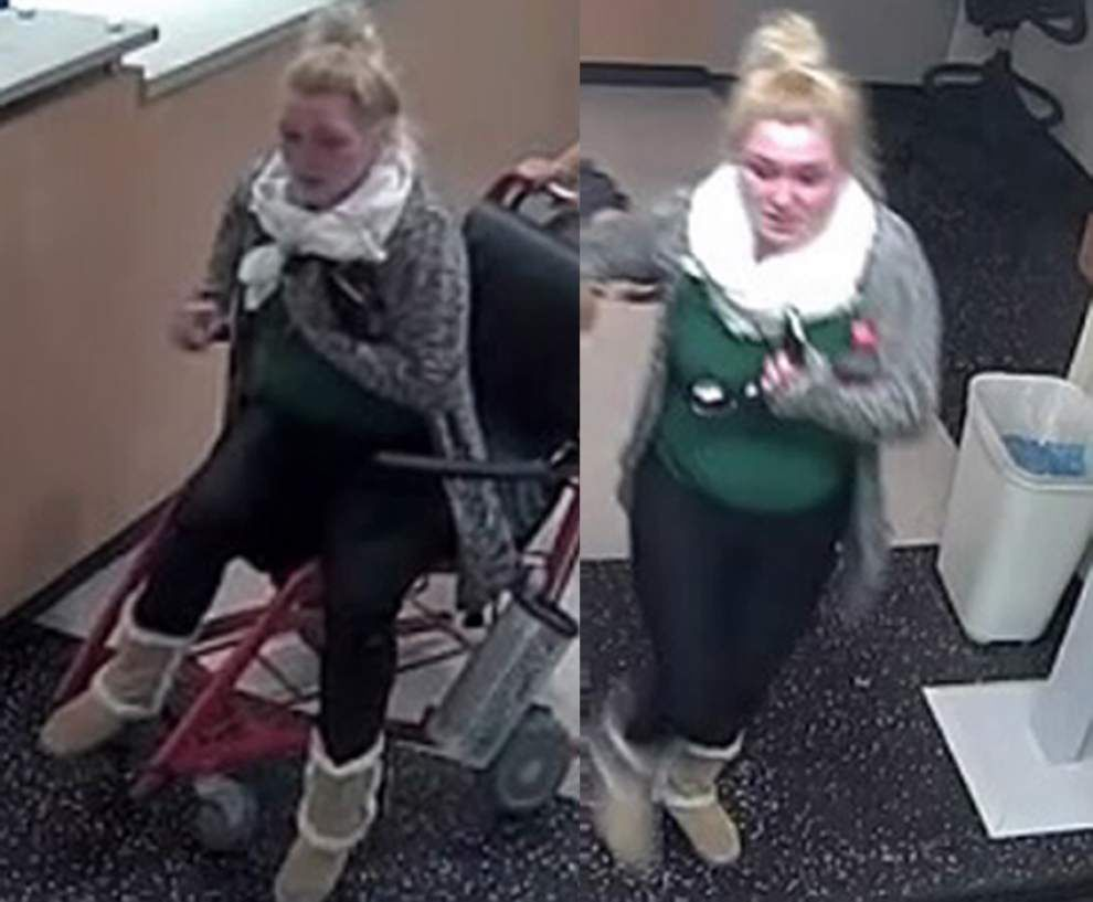 Police seek ID of woman who left man at hospital _lowres