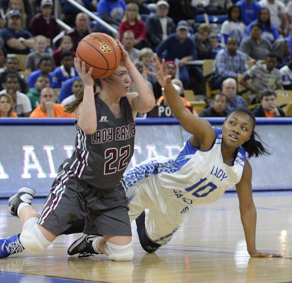 North Central girls claim Class 1A title by beating Vermilion Catholic 54-50 _lowres