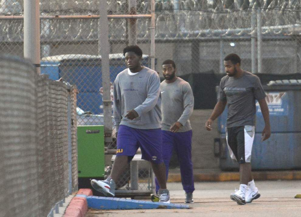 LSU officials express disappointment following latest arrest of university football players _lowres