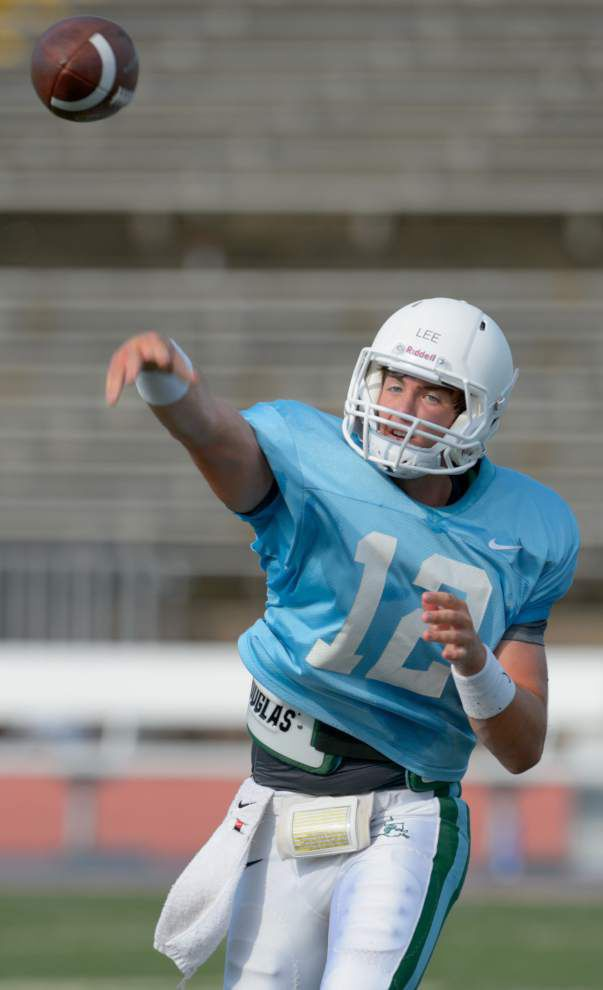 Tulane goes airborne in second preseason scrimmage _lowres