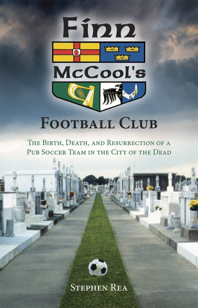 Book highlights the football club that beat Katrina _lowres