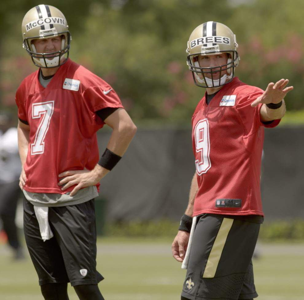 Notes and observations from the Saints' Wednesday minicamp practice _lowres