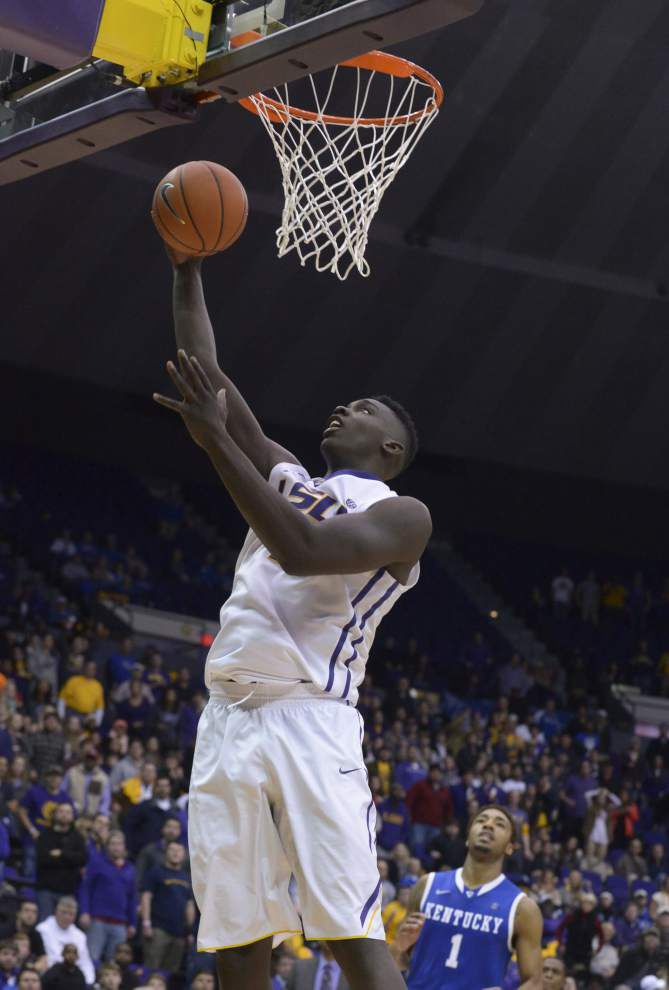 O'Bryant leads LSU to 87-82 upset of No. 11 Kentucky _lowres
