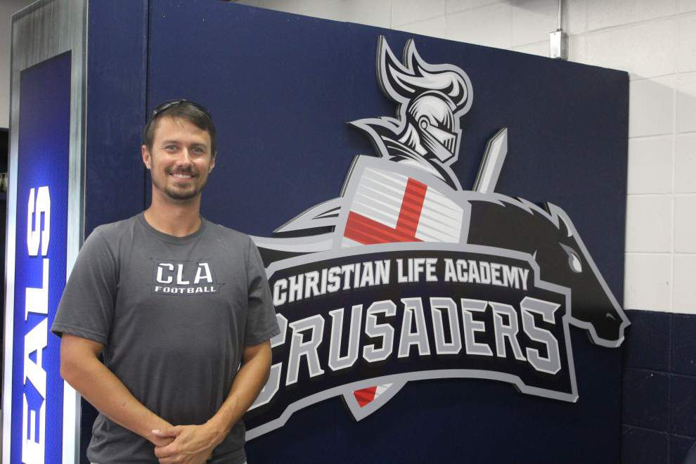 Military, previous coaching stints, shape new Christian Life football coach Ben Palmer's style _lowres