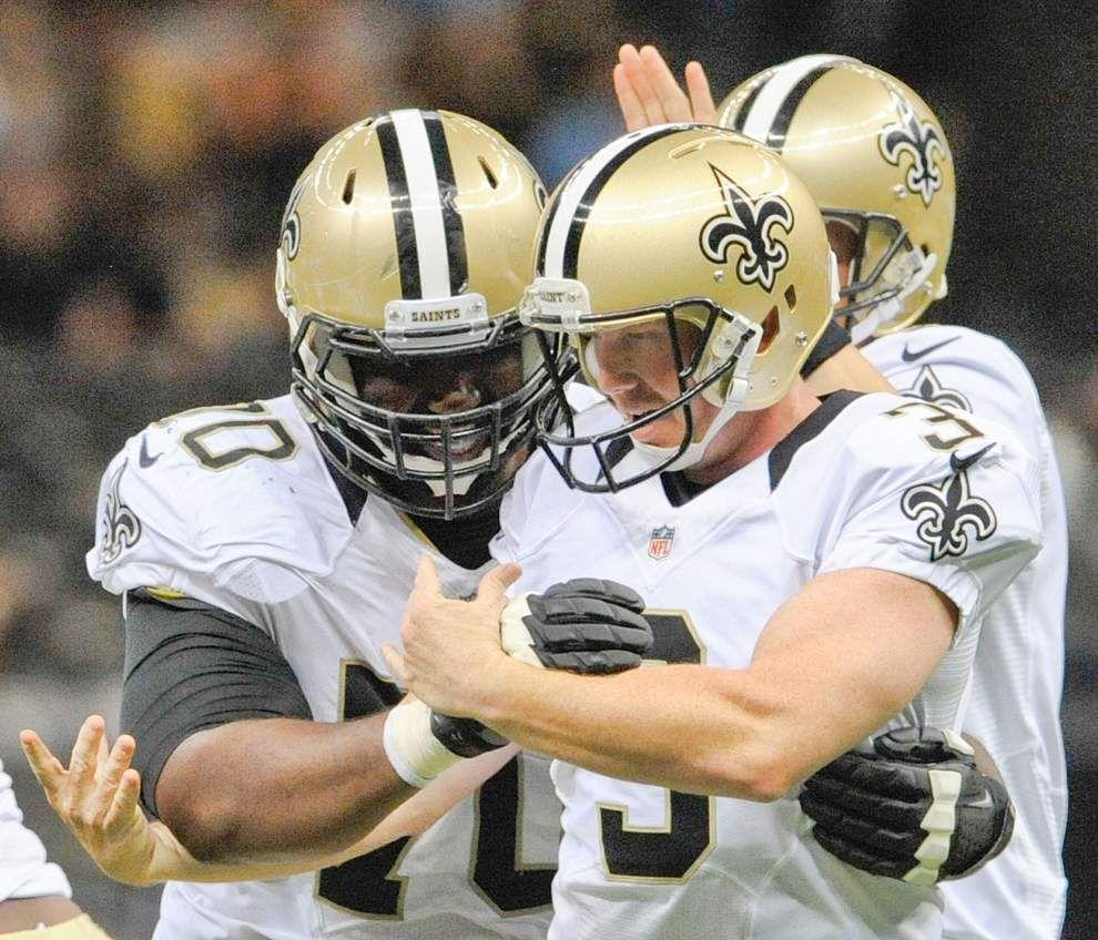 Saints re-sign kicker Shayne Graham; quarterback Ryan Griffin released _lowres