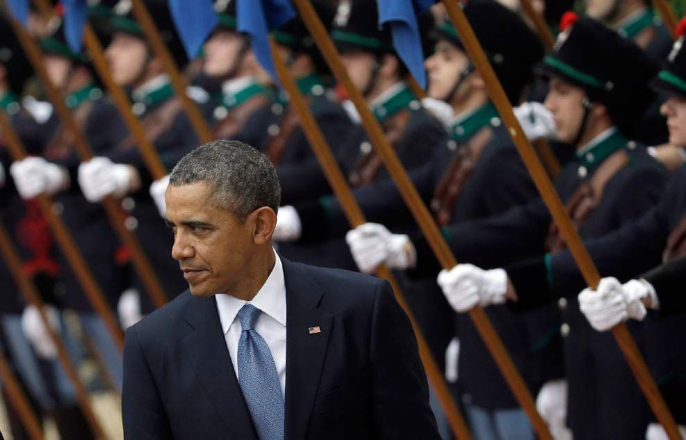 Obama: End collection of Americans' phone records _lowres