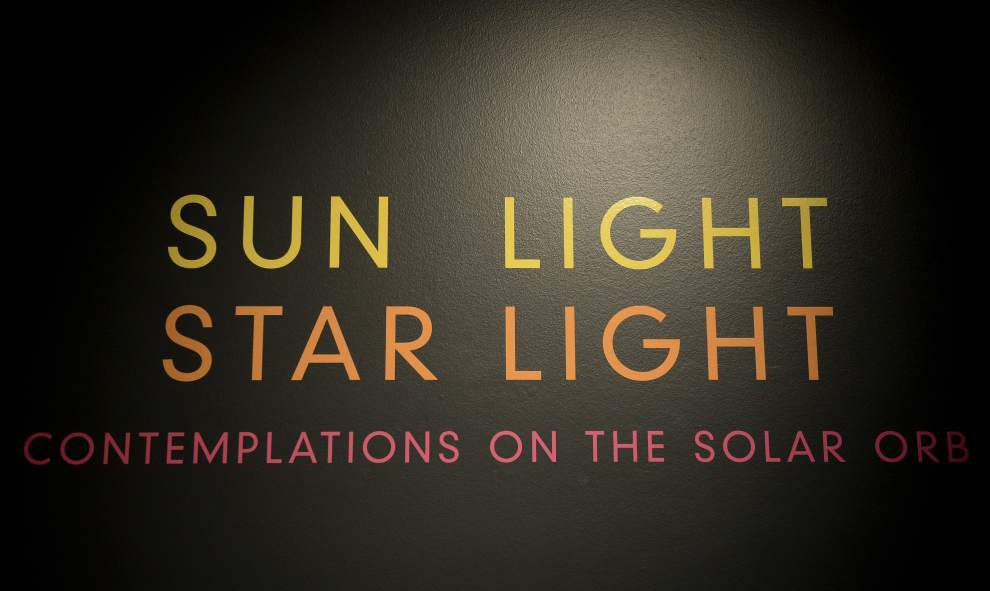 Human's link with the sun examined in Louisiana Art & Science Museum exhibit _lowres