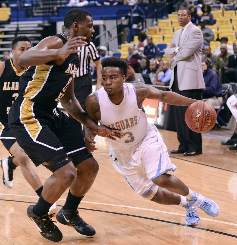 Southern men advance in SWAC tournament _lowres
