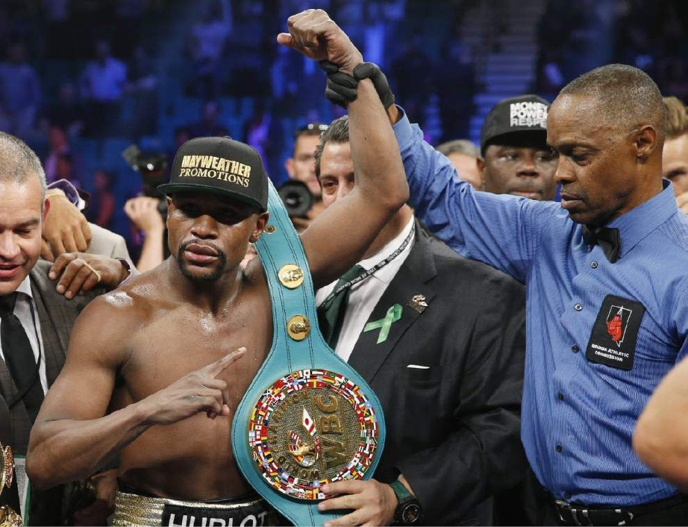 Mayweather frustrates Pacquiao, wins by unanimous decision in richest fight ever _lowres