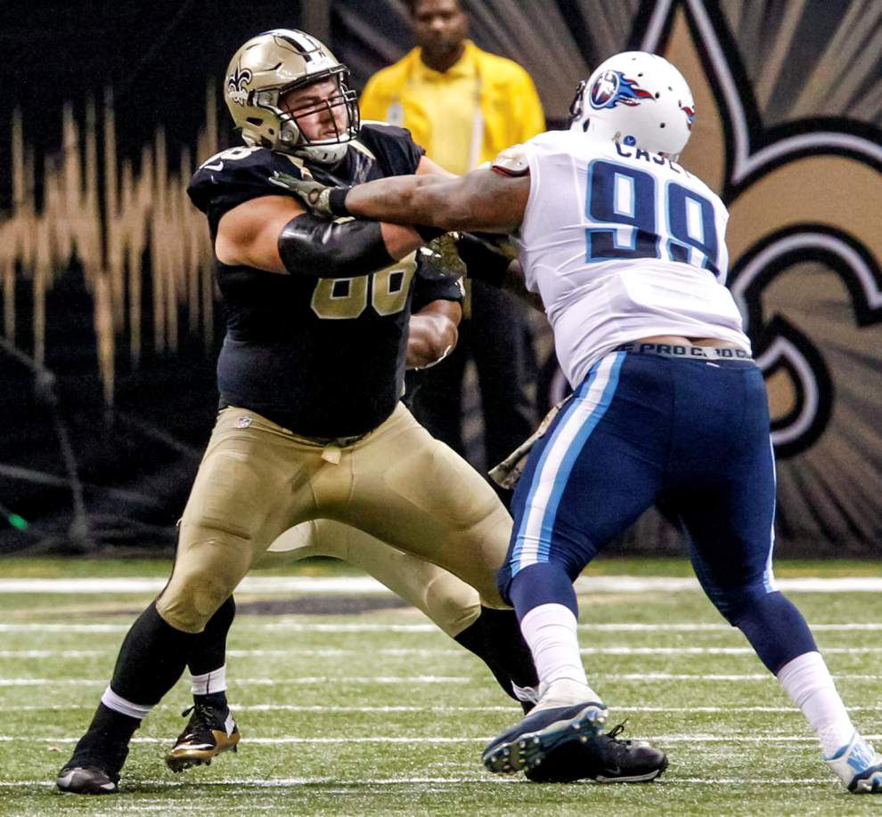 Saints guard Tim Lelito tells WWL he turned down Cowboys offer, likely will remain in New Orleans _lowres