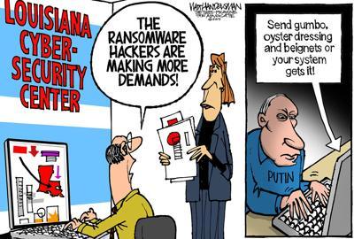 Walt Handelsman: Who the Hack?!